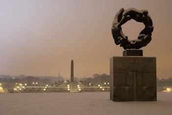 Monuments at the Vigeland park-1426