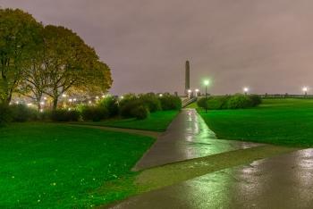 The Monolith Vigeland Rain-9743