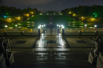 Vigeland north in the rain-9681