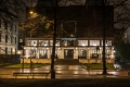 Kunstnernes hus at night Oslo-1196